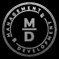 Logo MD Silver